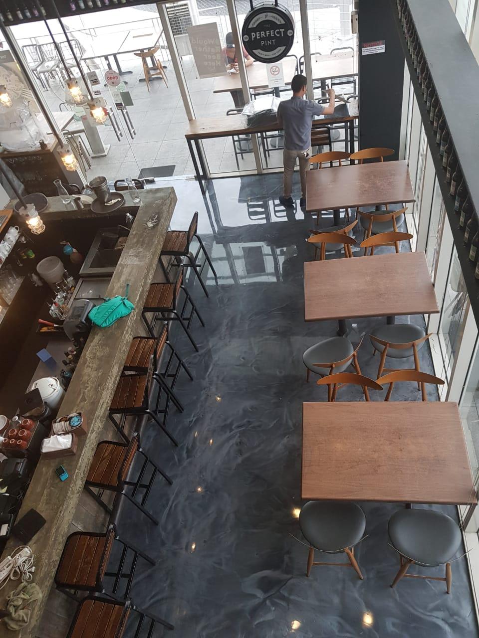 Perfect Pint Metallic Epoxy Floor Philippines